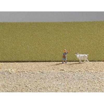 image: Static Grass - Field Grass - Medium Green - 30g