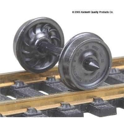 "image: 36"" Diameter (Ribbed Back) Passenger Car Wheelsets - Pk12"