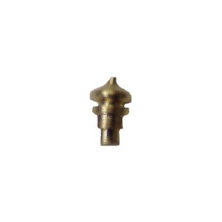 "image: Brass Signal Mast Finiales - Dome Style - For .008"" Thick Masts"