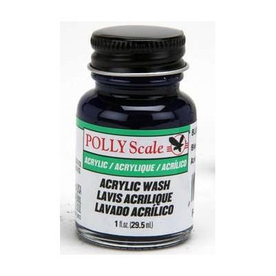 image: Polly Scale Railroad Acrylics - Blue Wash - 1oz (30ml) Bottle