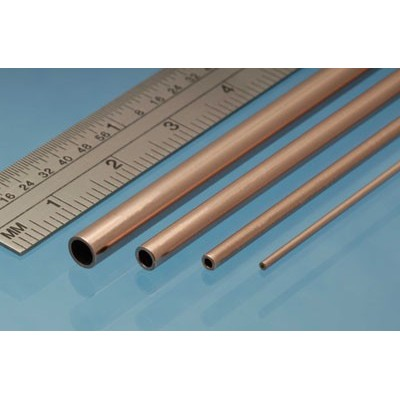image: 5.0mm x 0.45mm x 305mm Copper Tube - 3 Pieces
