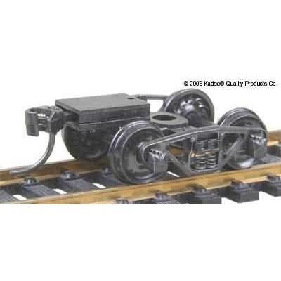 "image: Vulcan Double Truss (Talgo) Trucks with 33"" Ribbed Back Wheels - 1pr"