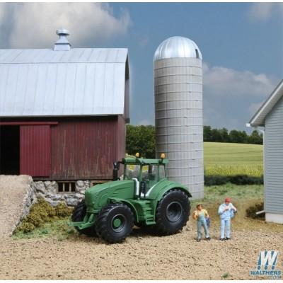 image: Four-Wheel Drive Farm Tractor