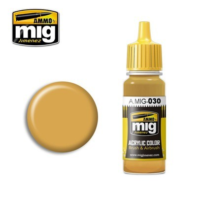 image: Sand Yellow Acrylic Paint - 17ml