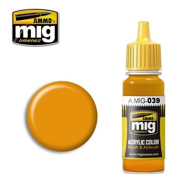 image: Light Rust Acrylic Paint - 17ml