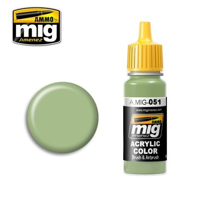image: Light Green Acrylic Paint - 17ml