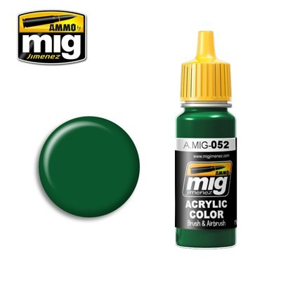 image: Deep Green Acrylic Paint - 17ml