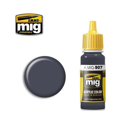 image: Grey Dark Base Acrylic Paint - 17ml
