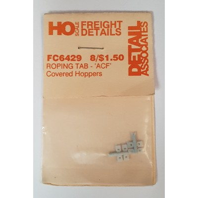 Freight Car Roping Tag - ACF Covered Hoppers (8)