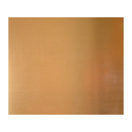 0.4mm x 100mm x 250mm Brass Sheet - 1 Piece