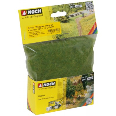 Static Grass - Wild Grass - Bright Green - 50g