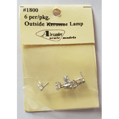 Outside Kerosene Lamp - Pkg 6