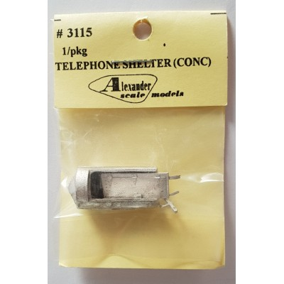 Concrete Telephone Shelter - Pkg 1