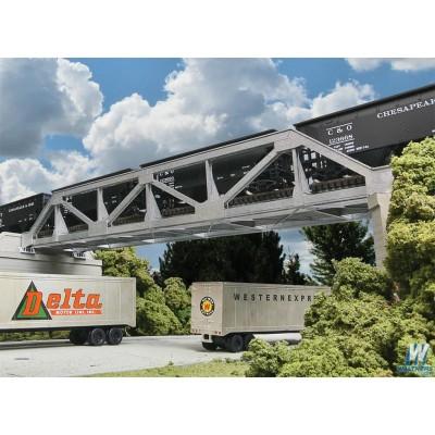 Single-Track Pony Truss Bridge