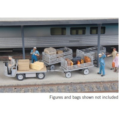 ADVANCE RESERVATION - Baggage Tractor & Trailers Kit