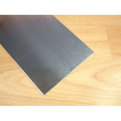 0.15mm x 100mm x 250mm Aluminium Foil Sheet - 2pcs