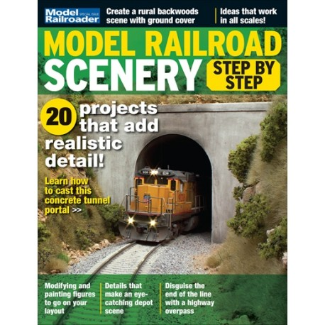 Model Railroad Scenery - Step By Step