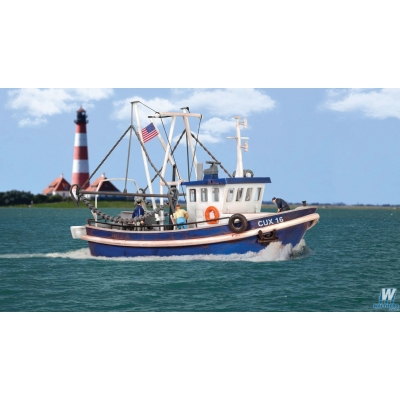 Modern Fishing Boat Kit