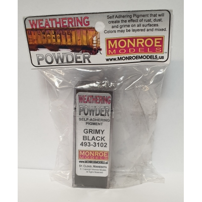 Weathering Powder - Grimy Black - 1oz