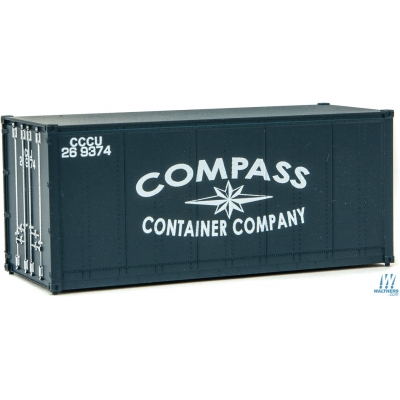20ft Smooth-Side Container - Compass