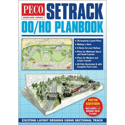 Setrack OO/HO Planbook - Fifth Edition