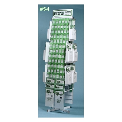 Evergreen Plastic - Channel/I-Beam/H-Column and Angle - 14ins Long - Various