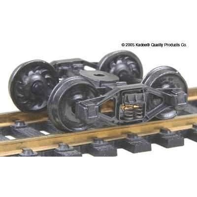 image: Self-Centering Bettendorf T-Section Freight Car Trucks - 1pr