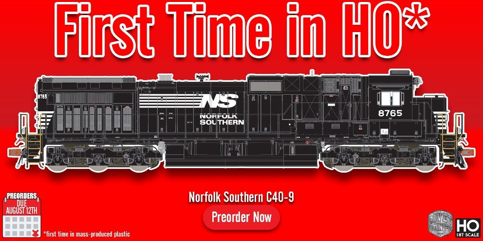 New from Scaletrains 2nd Run HO Rivet Counter Dash 9 Locomotives