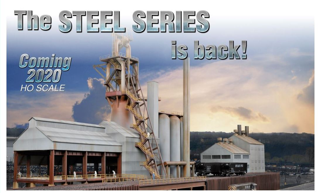 Walthers HO The Steel Series is Back
